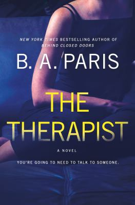The therapist : a novel Book cover